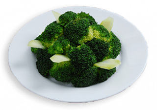 Broccoli Flower in Oyster Sauce